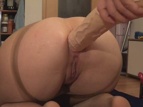 Gaping Anal – JungesfetischpaarNRW monster red butplug rides to gaping homemade