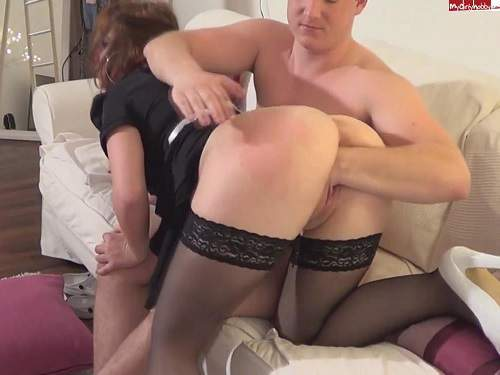 Pussy Fisting – Housewife deep blowjob and like hard fisting