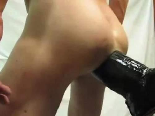 Closeup – Gay webcam new shocking dildo fuck solo closeup