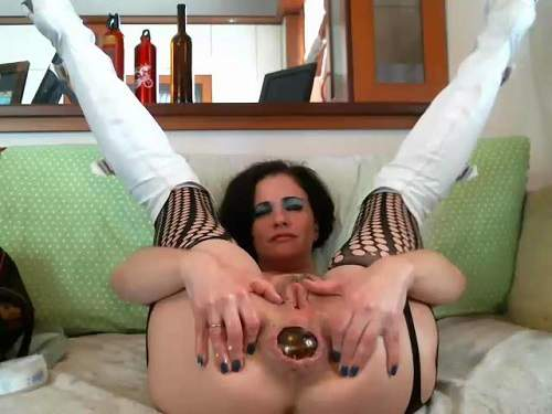 Mature anal solo toys