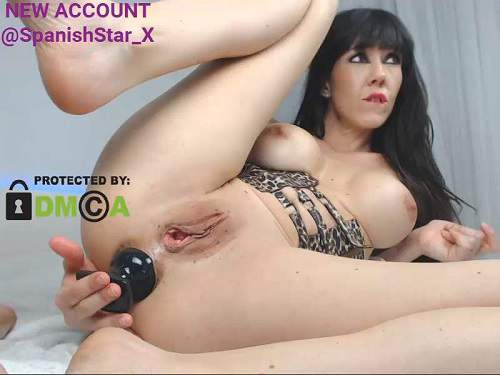 Big Tits Bouncing Riding Dildo