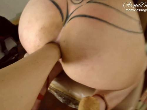Amateur Fisting – Amateur tattooed mature exciting stretching her gaping anus – Release January 28, 2018