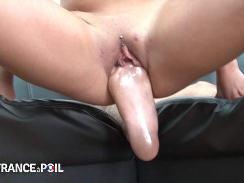Foot Penetration – French threesome first fisting and footing