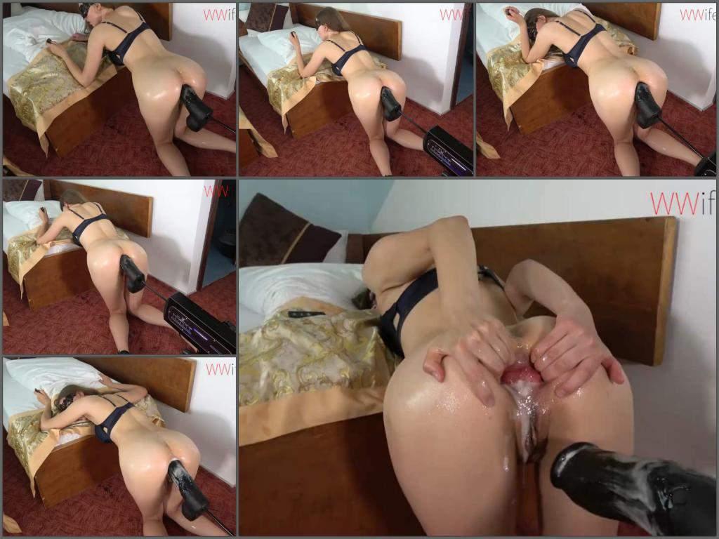 fucking machine porn,fuckmachine driller ass,anal rosebutt,masked wife porn,anal rosebutt ruined closeup,fuck machine porn very closeup