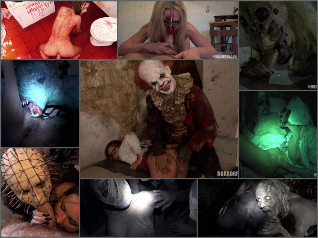 HorrorPorn Full SiteRip – 40 videos in 4K quality – Scary halloween porn