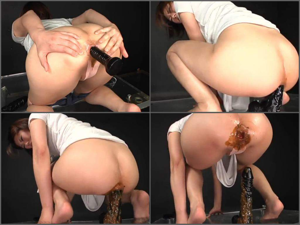 Shemale Dildo Anal Ride