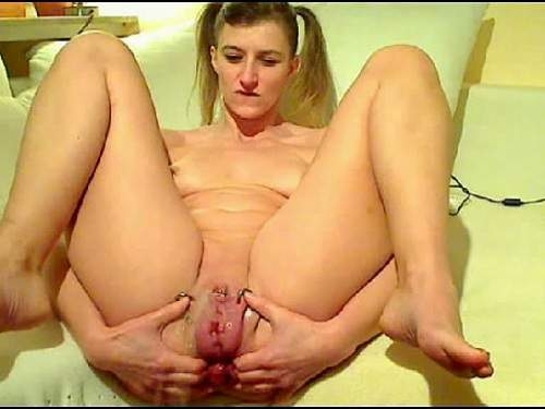 Huge Dildo – Fantastic germany webcam Prolapse ass and Different anal games
