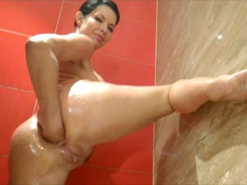 Anal – Rare amateur 3 videos with Veronica Avluv – fisting, dildo blowjob
