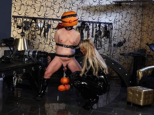 Halloween – German porn CaleaToxic Halloween slave femdom porn