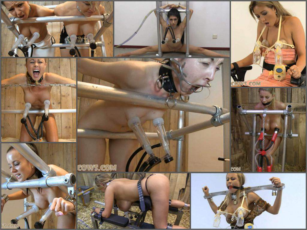 Hucows  – Full SiteRip – milking tits pump domination 166 clips