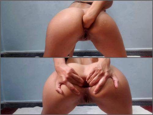 Girl Gets Fisted – Webcam ideal booty latin girl first try anal and vaginal fisting