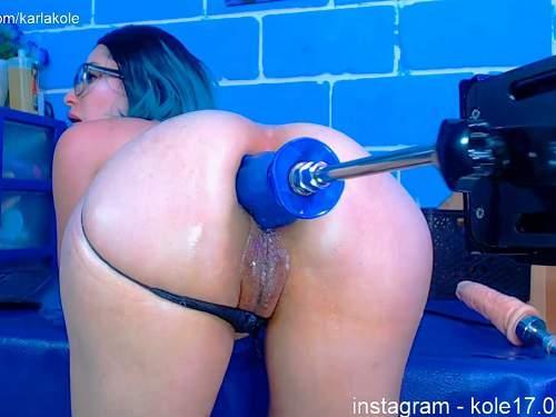 Webcam Teen – Karlakole fucking machine driller her stretched anus
