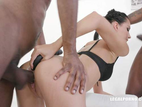 Long Dildo – Megan Venturi long dildo anal and gets anal creampie