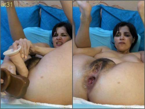 Dildo Porn – Only_Julia show anal rosebutt double extreme double dildos sex