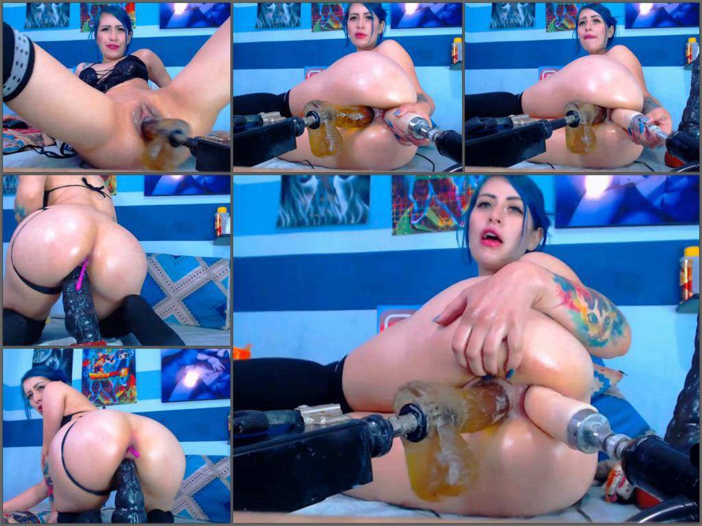 Karlakole fucking machine porn,Karlakole fuckmachine,dildo driller ass,dildo driller pussy,double dildos porn,dildo rides hardcore