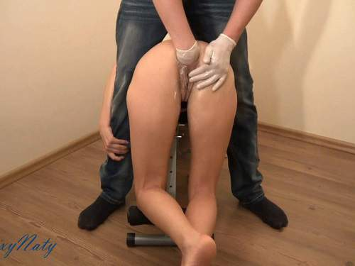 Close Up – SexyNaty man's fist in my ass to gaping