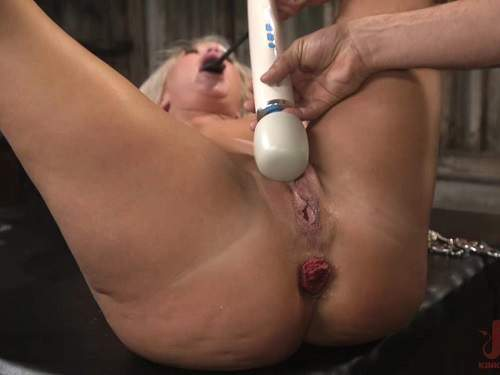 Anal Prolapse – The dinner party: cheating wife London River gets anally creampied and prolapse