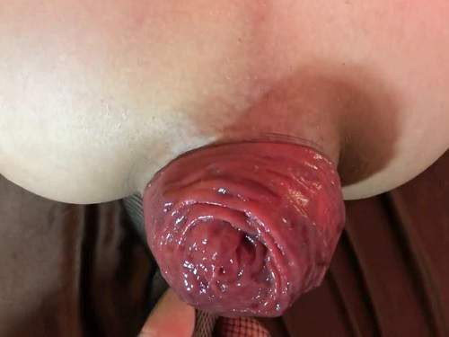 Pov Porn – Girl show most beautiful anal prolapse what you seen