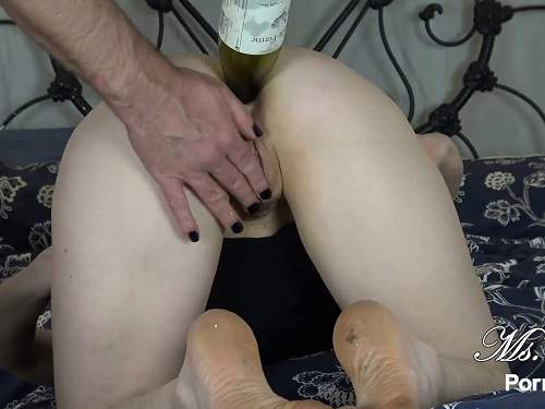 Bottle Anal – Ms Fine penetration bottle in ass and anal sex after
