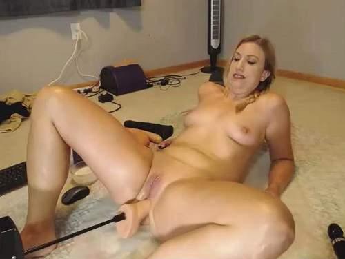 Fucking Machine Videos – Wynfreya shitting fucking machine anal driller