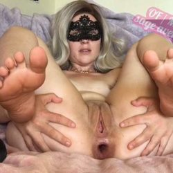 Anal Stretching - Sage_avery_xxx anal + cunt gape training session 1 – Premium user Request