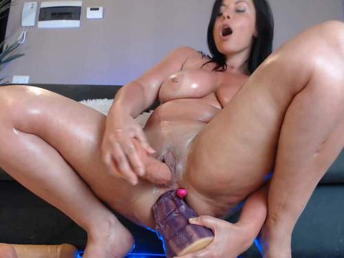 dildo anal,dildo penetration,horse dildo anal,monster dildo anal,dildo dp,double penetration,monster dildo in ass