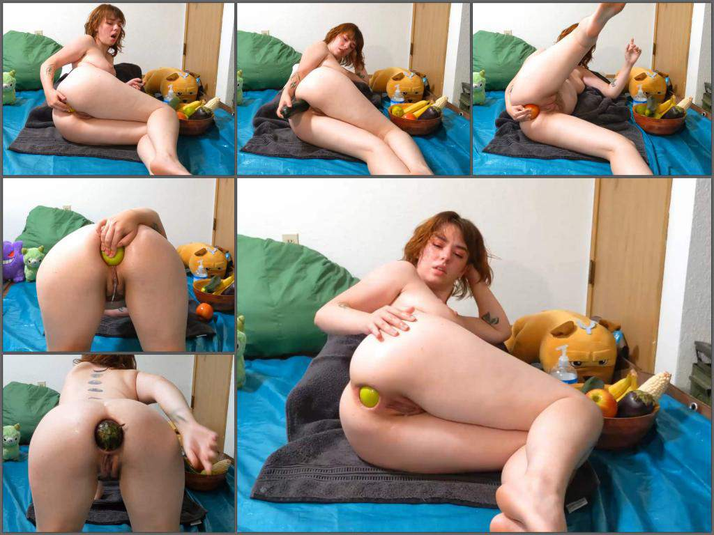 Analgirlforever 2020,Analgirlforever anal gape,vegetable porn,food porn,food sex,gaping anal hole,redhead porn,gaping anal hole,webcam teen anal