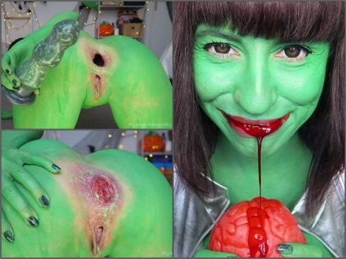 Prolapse Porn – Mylene dirty creature RP. Gapes, rosebud, beads – Premium user Request