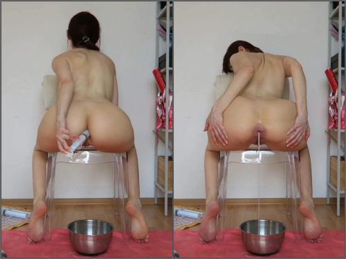 Farting Girl – Full HD webcam Cum bucket. Lube enemas, creampies, fart – Premium user Request