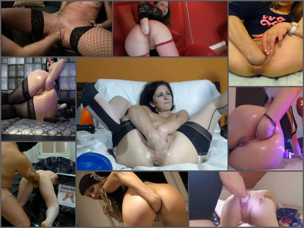 Webcam and amateur anal fisting solo good girls – 175 clips pack