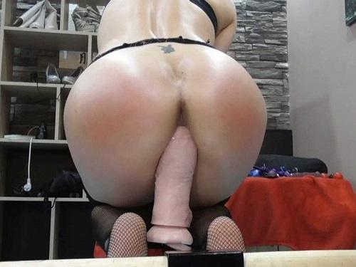 Dildo Porn – Webcam hungarian hot pornstar BIackangel monster dildo anal xxx