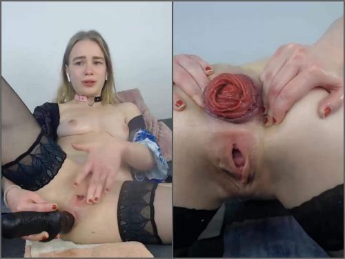 JanaBellaCam anal prolapse,prolapse xxx,anal prolapse xxx,girl anal xxx,anal fisting,JanaBellaCam solo fisting,JanaBellaCam dildo penetration,big dildo anal