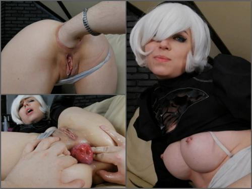 Amateur – Dismoralica extreme anal fist of 2B greedy ass hole – Premium user Request