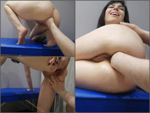 Dismoralica ride my friend's fist with my asshole,Dismoralica 2021,Dismoralica anal fisting,Dismoralica deep fisting,Dismoralica anal prolapse,Dismoralica anal gape,girl anal gape