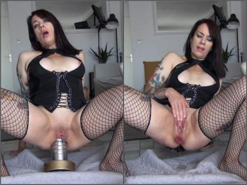 Adeline Lafouine – Adeline Lafouine giant metal dildo destroys my ass – Premium user Request