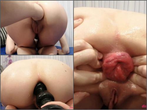 Russian Girl – Russian girl Dismoralica enjoy rough stretching huge anal gape HD