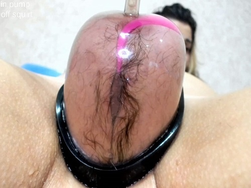 Prolapse Porn – Hard anal rosebutt loose during vaginal pump with Only_Julia