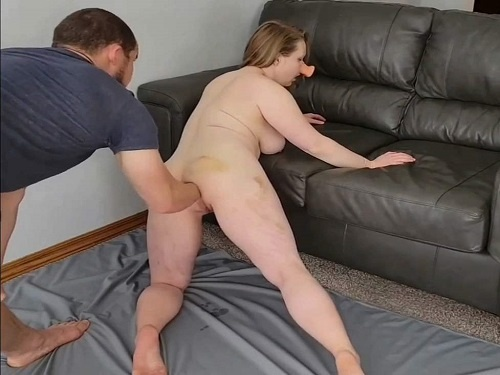 Couple Fisting – Pig wife squirt during fisting sex and gaping hole loose