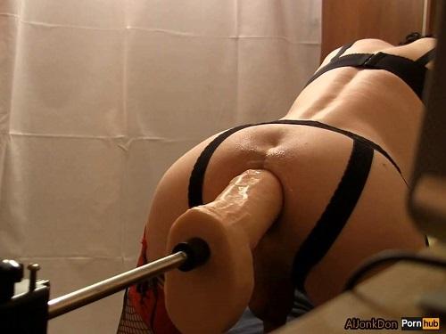 Fucking Machine Videos – Amazing pornstar Aljonkdon fucking machine sex with huge dildo