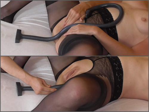Closeup – FreyjaAnalslut mv009 – very deep anal – 33 inches – Premium user Request