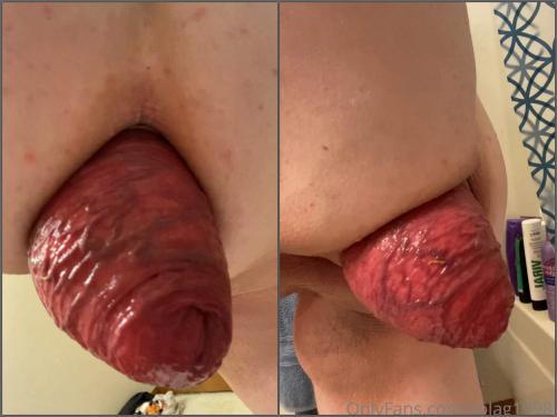 Booty Girl – Fatty pornstar Solag1998 sexy anal prolapse loose POV amateur
