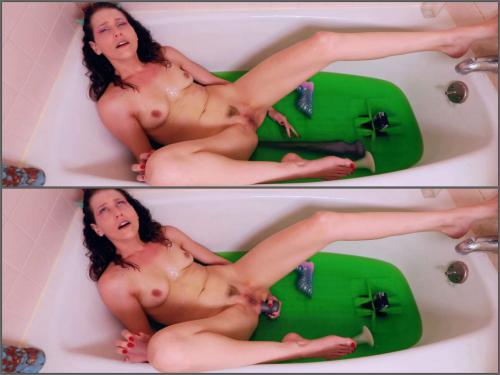 Close Up – Slime Girl Tentacle Succubus in the bathroom – Premium user Request