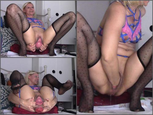 Pussy Fisting – Sexy russian blonde fist pound ass n pussy prolapse – Premium user Request