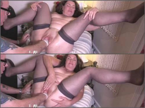 Hottabbycat pussy prolapse,pussy porn,vaginal fisting,amateur fisting sex,fisting scene,big ass wife,mature fisting,pantyhose fetish,forced fisting
