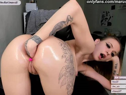 Russian girl – Marusyasurprise fist first time try 1 hour stream – Premium user Request