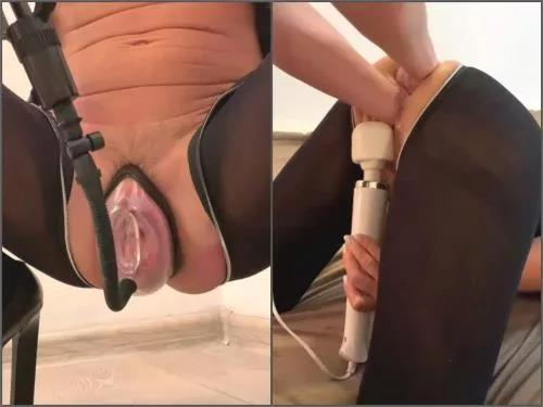 Crazywifeslut double fisting,Crazywifeslut pussy fisting,Crazywifeslut anal fisting,Crazywifeslut anal gape,girl anal gape,anal gape loose,pantyhose fetish,pussy pumping video,vaginal pump,anal gape hd